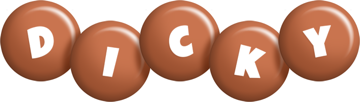 Dicky candy-brown logo