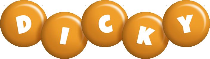Dicky candy-orange logo