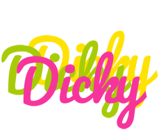 Dicky sweets logo