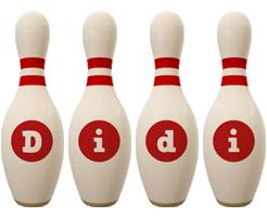 Didi bowling-pin logo