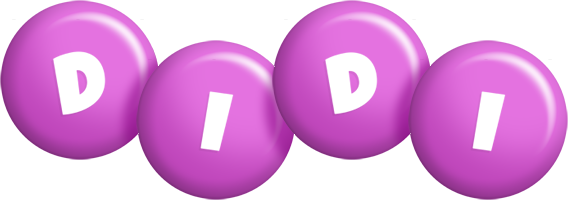 Didi candy-purple logo