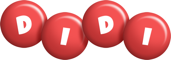 Didi candy-red logo