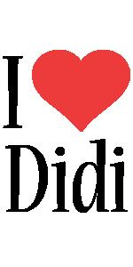 Didi i-love logo