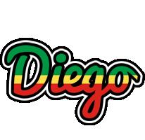 Diego african logo