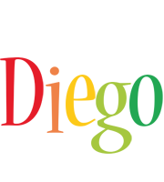 Diego birthday logo