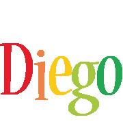 Diego birthday logo