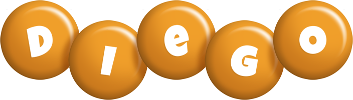 Diego candy-orange logo