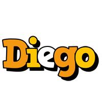 Diego cartoon logo