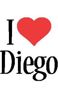 Diego i-love logo