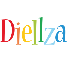 Diellza birthday logo
