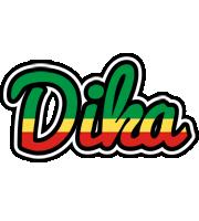 Dika african logo