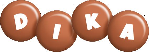 Dika candy-brown logo