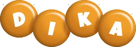 Dika candy-orange logo