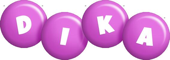 Dika candy-purple logo