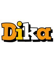 Dika cartoon logo