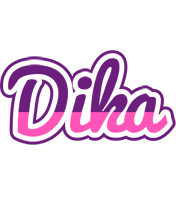 Dika cheerful logo