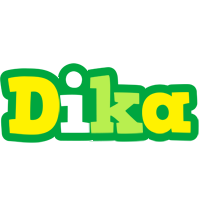 Dika soccer logo