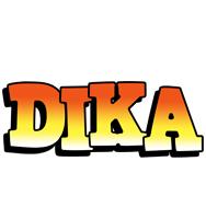 Dika sunset logo