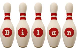 Dilan bowling-pin logo