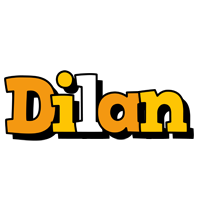Dilan cartoon logo