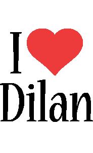 Dilan i-love logo