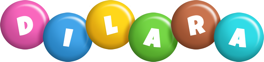 Dilara candy logo