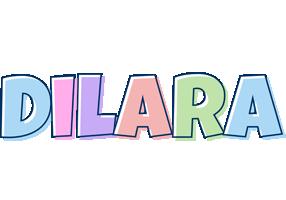 Dilara pastel logo