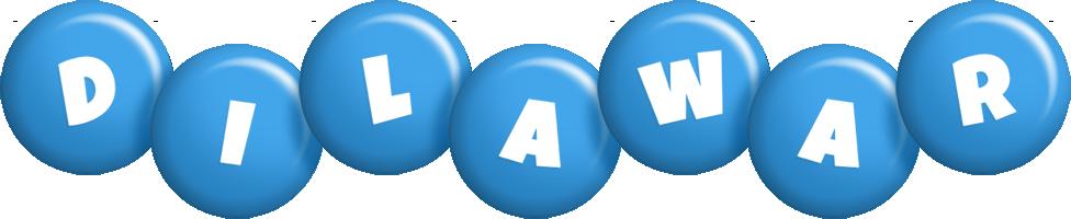 Dilawar candy-blue logo