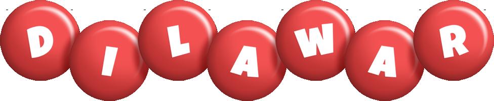 Dilawar candy-red logo