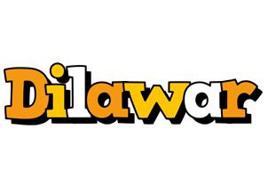 Dilawar cartoon logo