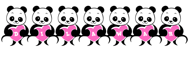 Dilawar love-panda logo