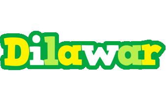 Dilawar soccer logo