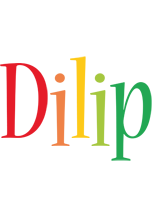 Dilip birthday logo