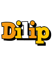 Dilip cartoon logo