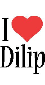 Dilip i-love logo