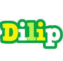 Dilip soccer logo