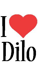 Dilo i-love logo