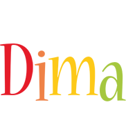 Dima birthday logo