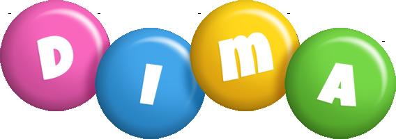 Dima candy logo