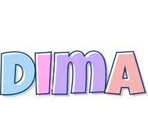 Dima pastel logo