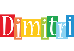 Dimitri colors logo