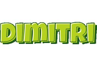 Dimitri summer logo