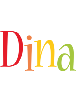 Dina birthday logo