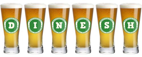 Dinesh lager logo