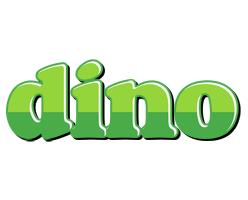 Dino apple logo