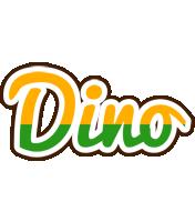 Dino banana logo