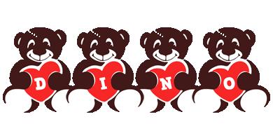 Dino bear logo