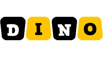 Dino boots logo