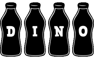 Dino bottle logo