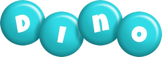 Dino candy-azur logo